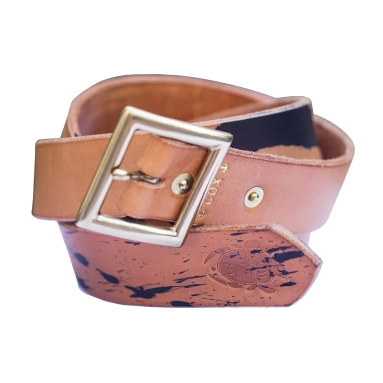 marine splash nature vegtan belt