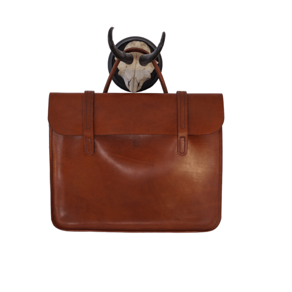 vegetable tanned business briefcase