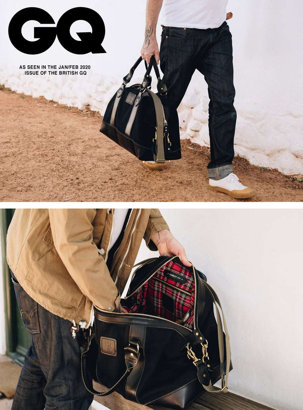 weekender_black_canvasGQ_magazine